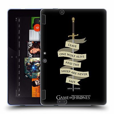 Game Of Thrones quote hard case kindle cover