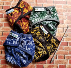 Harry Potter cloth diapers