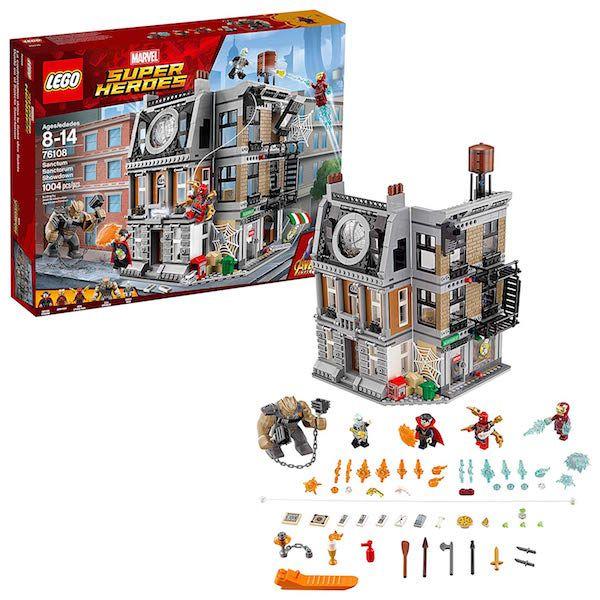 Marvel Infinity War Lego Set