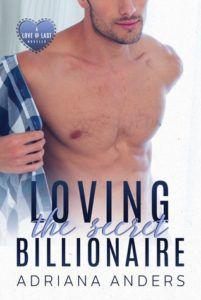 cover of loving the secret billionaire