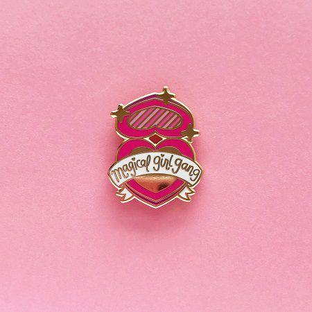 magical girl gang pin