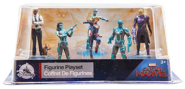 Captain Marvel Action Figures Set