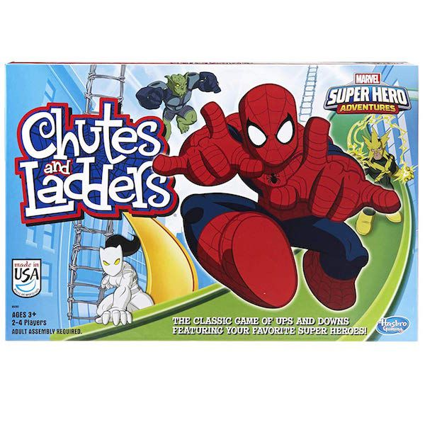 Spider-Man Chutes and Ladders