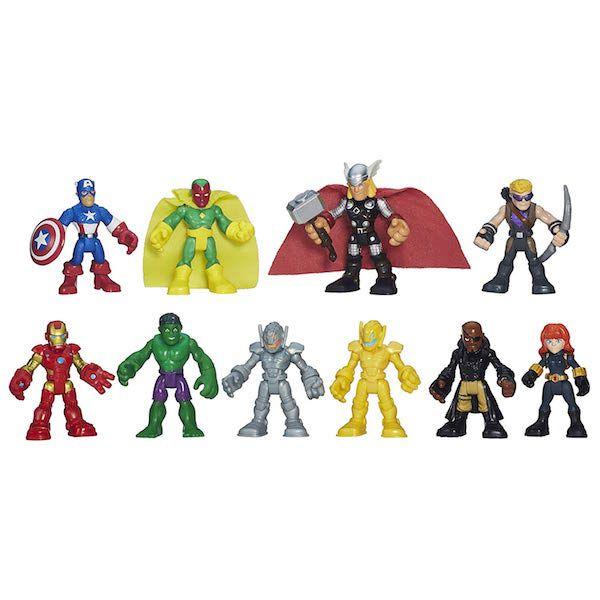 Playskool Action Figures Set
