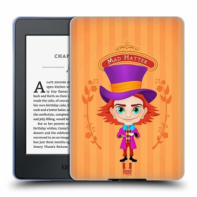 Mad Hatter hard case kindle cover