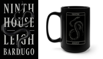 Ninth House tarot mug from Books And The Perfect Coffee Mugs To Go With Them | bookriot.com