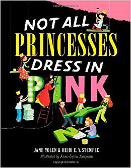 Not all princesses wear pink book cover