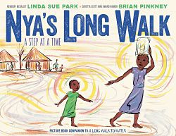 Cover of Nya's Long Walk to Water by Park