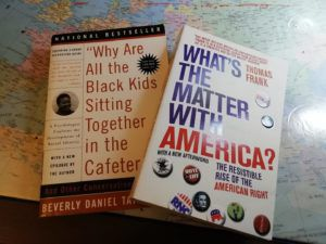 Two books bought at October Books
