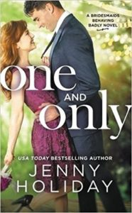 cover of one and only by jenny holiday