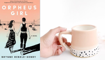 Orpheus Girl mug from Books And The Perfect Coffee Mugs To Go With Them | bookriot.com