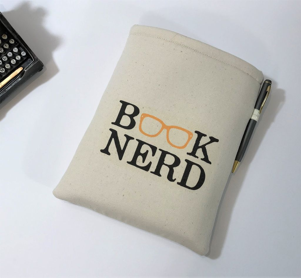 Padded Book Nerd Pouch