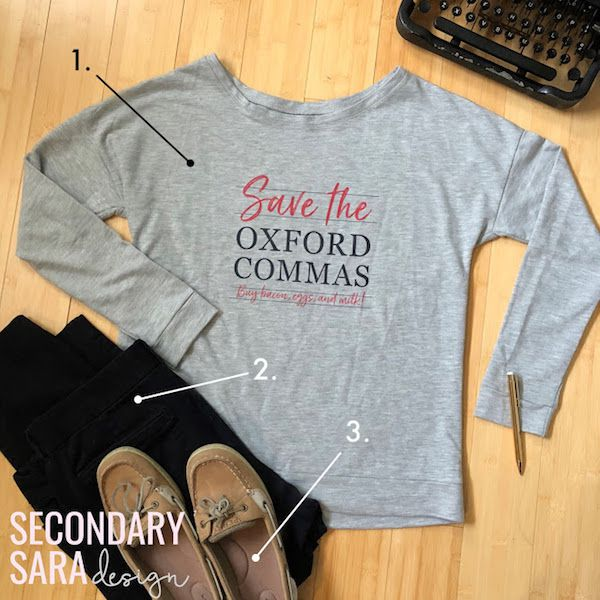 Save the Oxford Commas T-Shirt