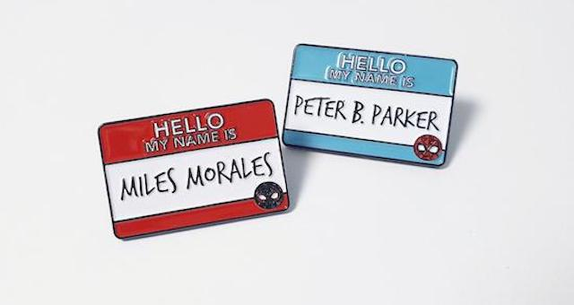 20 Spider-Man Enamel Pins: Great Power and Great Responsibility Not Included With Purchase