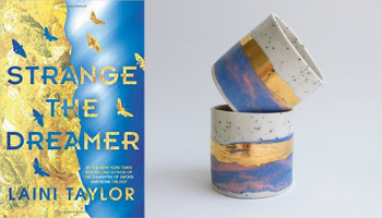 Strange the Dreamer mug from Books And The Perfect Coffee Mugs To Go With Them | bookriot.com