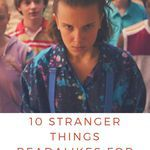 Readers of any age will fall in love with these books perfect for enjoying after STRANGER THINGS. book lists | STRANGER THINGS books | books like STRANGER THINGS | Readalikes for STRANGER THINGS