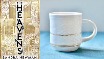 The Heavens mug from Books And The Perfect Coffee Mugs To Go With Them | bookriot.com