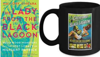 The Lady from the Black Lagoon mug from Books And The Perfect Coffee Mugs To Go With Them | bookriot.com
