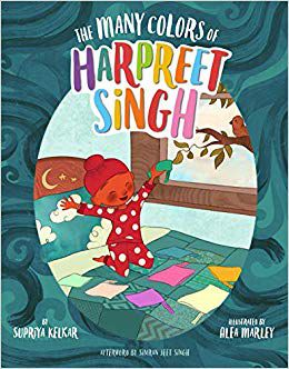 Cover of The Many Colors of Harpreet Singh by Kelkar
