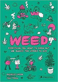 Capa de livro de ervas daninhas