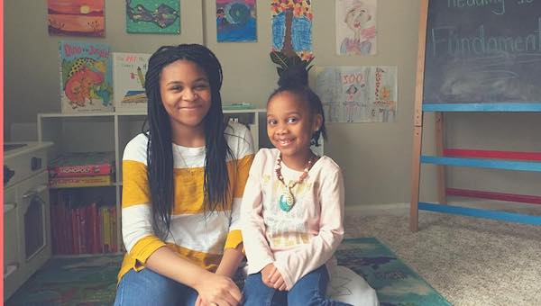 Sisters Share Their Love of Bedtime Stories On Facebook and Instagram
