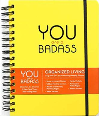 You Are a Badass Planner