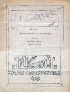 The Comet Zine Cover