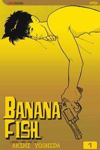 Banana Fish volume 1 cover - Akimi Yoshida