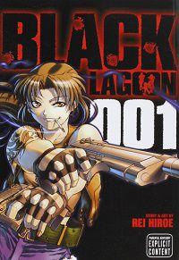 Black Lagoon volume 1 cover - Rei Hiroe