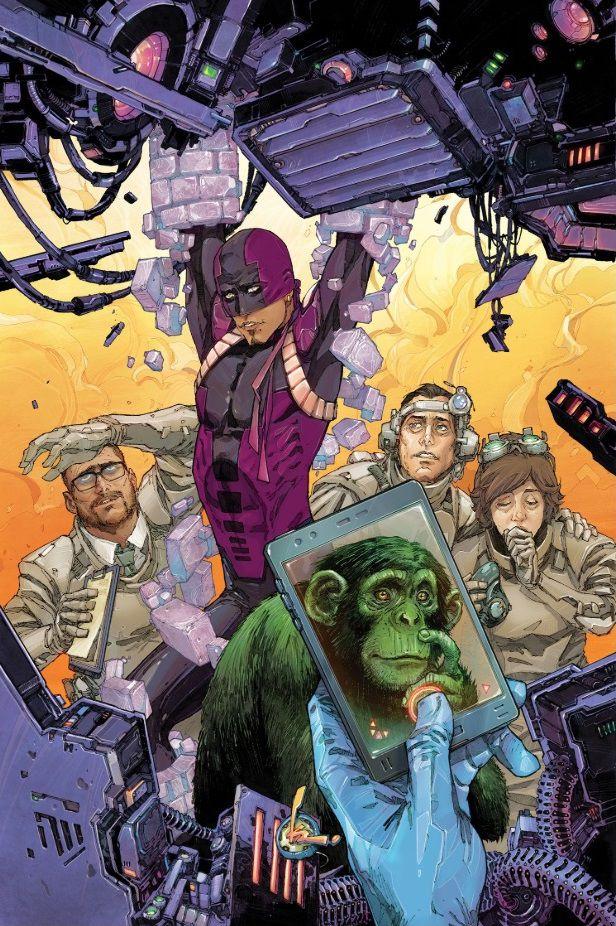 Bunker in Teen Titans #2
