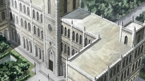 Cross Academy from Vampire Knight