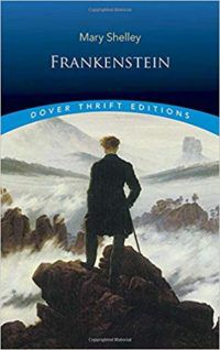 Frankenstein by Mary Shelley cover