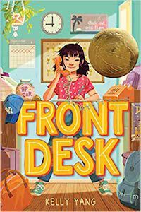 Front Desk by Kelly Yang book cover