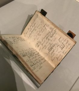 Whitman's notebook