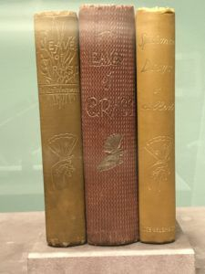 Whitman leatherbound books