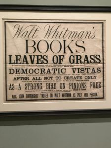 Whitman Leaves of Grass ad