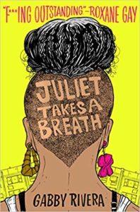 Juliet respira capa de livro