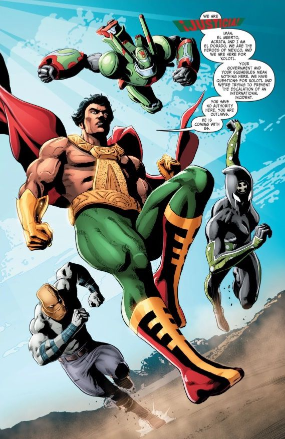 Justicia in Suicide Squad Most Wanted #5