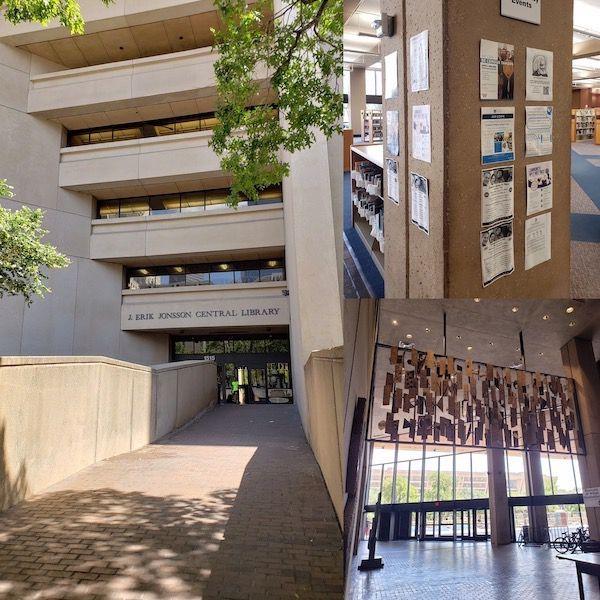 Dallas Literary Scene: J. Eric Jonsson Central Library