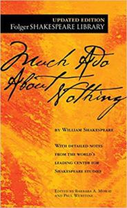 Much Ado About Nothing by William Shakespeare Cover