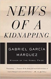 News of a Kidnapping by Gabriel Garcia Marquez cover