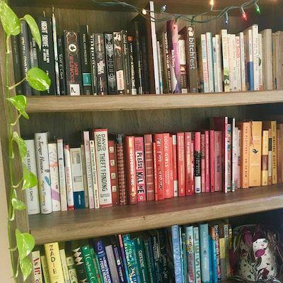 Rachel's Rainbow Bookshelf