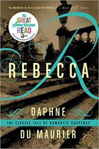 Rebecca by Daphne Du Maurier cover