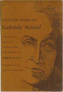 Selected Poems of Gabriela Mistral Book Cover