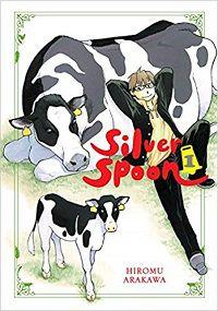 Colher de prata volume 1 capa - Hiromu Arakawa