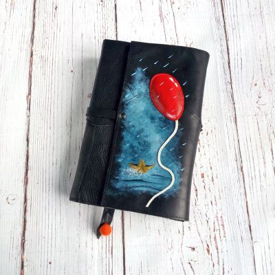 stephen king it leather book sleeve