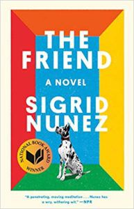 The Friend, A Novel Book Cover