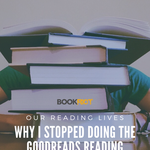 The Goodreads reading challenge may be good for when you're needing motivation, but it didn't work out for me. And so, I quit. Here's why. | BookRiot.com | Goodreads | Reading Challenge | Genre Fiction | Literary Fiction | Midyear