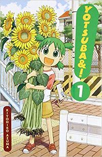 Yotsuba volume 1 cover - Kiyohiko Azuma