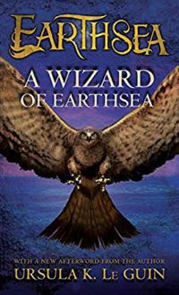 book cover a wizard of earthsea